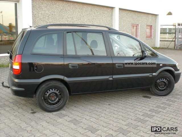2002 opel zafira 2 2 selection free car photo and specs. Black Bedroom Furniture Sets. Home Design Ideas