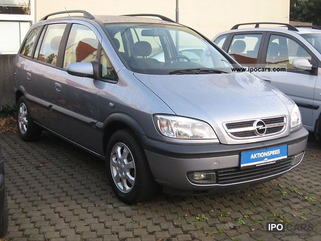 2003 opel zafira 1 8 automatic climate control 7 seater car photo and specs. Black Bedroom Furniture Sets. Home Design Ideas