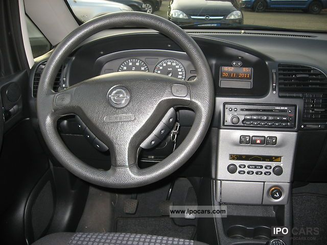 Hyundai 7 Seater Car >> 2003 Opel Zafira 1.8 automatic climate control 7 seater - Car Photo and Specs