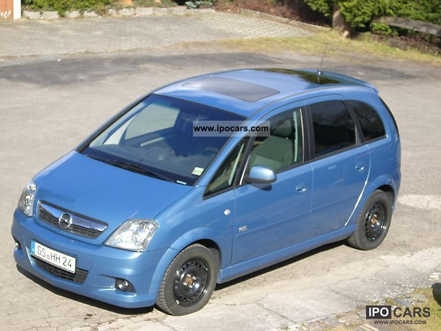 2007 opel meriva 1 8 16v opc line package car photo and specs. Black Bedroom Furniture Sets. Home Design Ideas