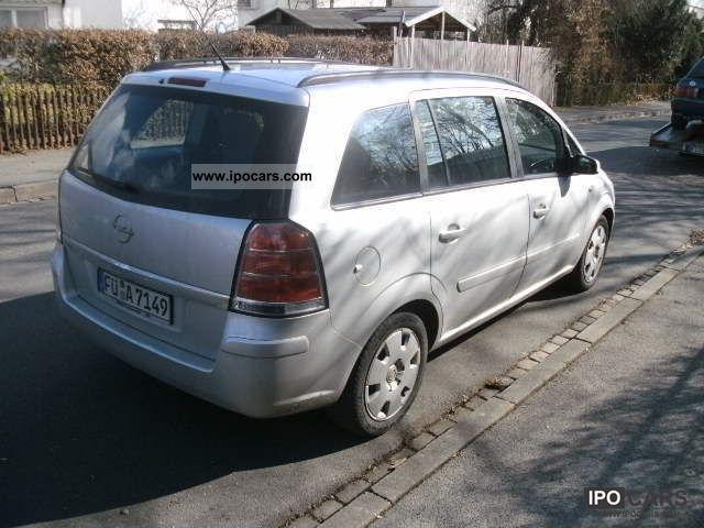 2005 opel zafira 1 6 cosmo van minibus used vehicle photo 1. Black Bedroom Furniture Sets. Home Design Ideas