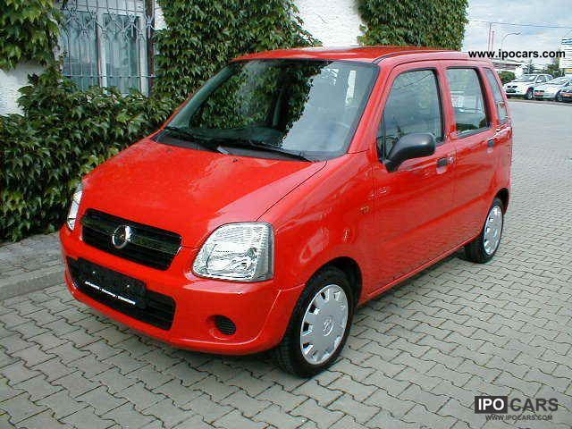 2007 opel agila car photo and specs. Black Bedroom Furniture Sets. Home Design Ideas