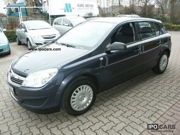 2009 opel astra h 1 4 selection car photo and specs. Black Bedroom Furniture Sets. Home Design Ideas