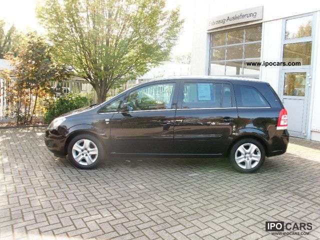 2010 opel zafira 1 6 ecoflex edition 111 years car photo and specs. Black Bedroom Furniture Sets. Home Design Ideas