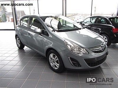 2011 Opel  5trg/neues facelift Corsa 1.2 / aluminum / air / cruise control Small Car Used vehicle photo