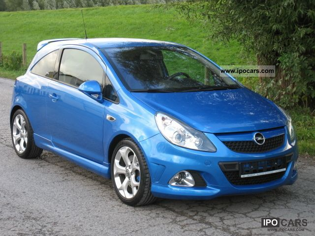 2009 opel corsa 1 6 turbo opc from 1 hand with only car photo and specs. Black Bedroom Furniture Sets. Home Design Ideas