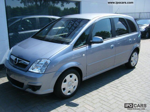 2007 opel meriva 1 7 cdti climatronic el fenster car photo and specs. Black Bedroom Furniture Sets. Home Design Ideas