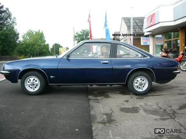 Opel  Manta B 1.6 N - checkbook - 3.Hd. - Very nice! 1976 Vintage, Classic and Old Cars photo
