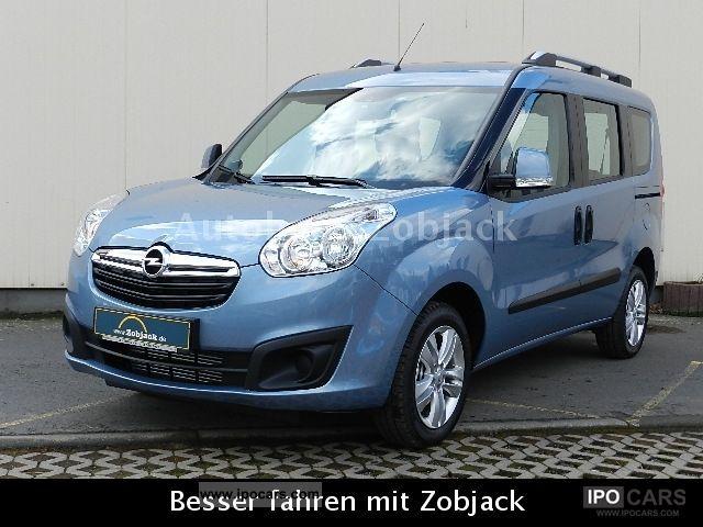 2012 Opel  D 1.6 CDTI Combo Edition L1H1 Kb Van / Minibus Demonstration Vehicle photo