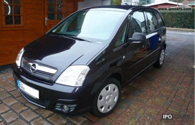 2007 opel meriva 1 4 catch me now car photo and specs. Black Bedroom Furniture Sets. Home Design Ideas