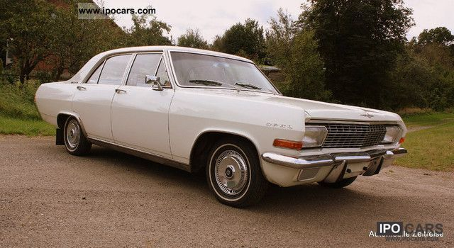Opel  Admiral Diplomat A 2.6 liter 83000km KAD built 1965-A 1965 Vintage, Classic and Old Cars photo