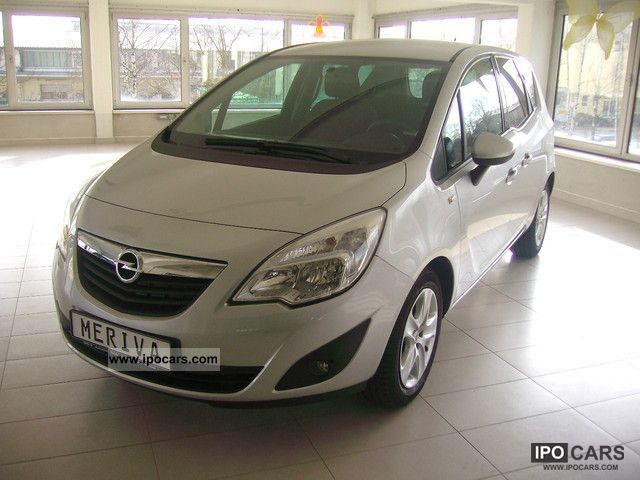 2012 opel meriva 1 4 design edition car photo and specs. Black Bedroom Furniture Sets. Home Design Ideas