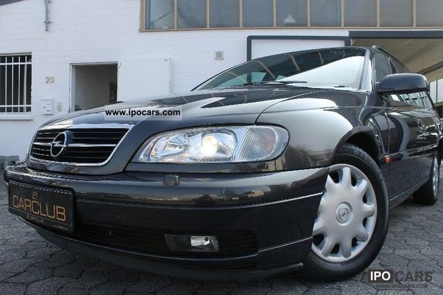 2000 Opel  * Omega Caravan Sport Package / climate control / SD * Estate Car Used vehicle photo