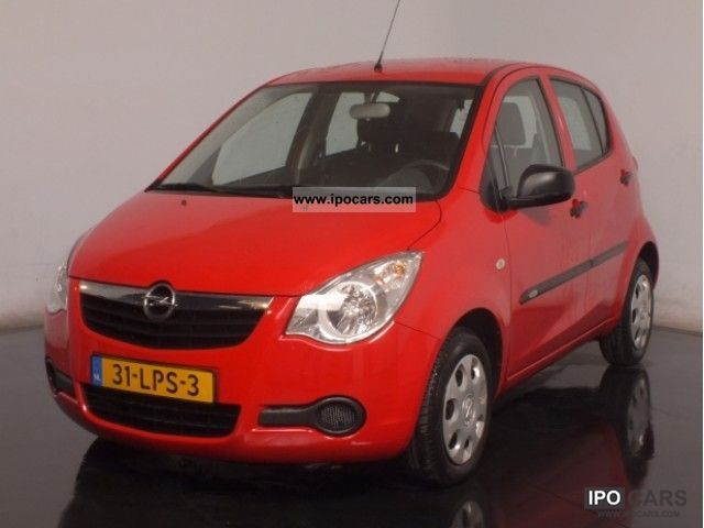 2010 Opel  Agila 1.0 12V 5-Drs 15000km Stuurbekr Fabrieksga Limousine Used vehicle photo