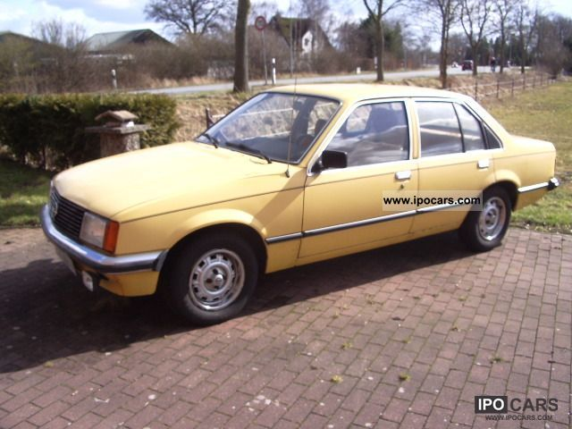 Opel  Record 1979 Vintage, Classic and Old Cars photo
