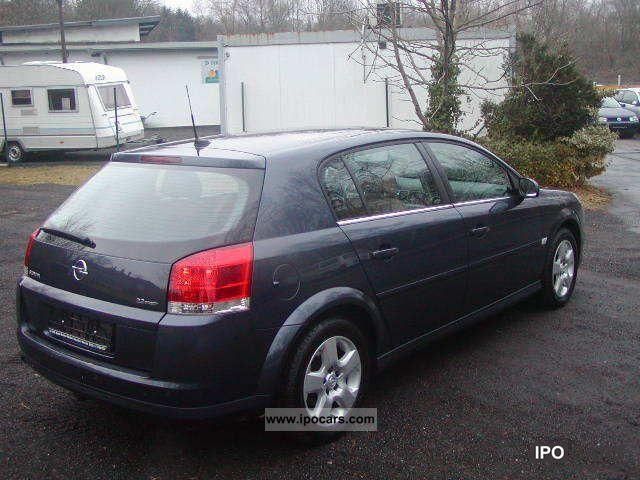 2006 Opel Signum 22 D Leather Roof Navi Full Pdc Efh Car Photo