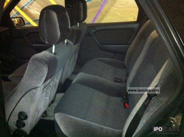 Vectra 2000 Interior 1990 Opel Vectra 2000 16v