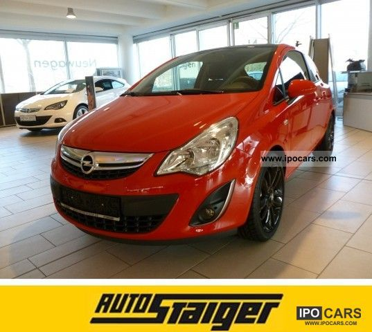 2012 opel corsa color edition car photo and specs. Black Bedroom Furniture Sets. Home Design Ideas
