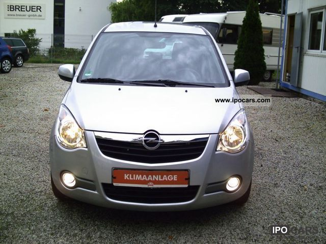 2009 opel agila 1 2 automatic edition climate esp. Black Bedroom Furniture Sets. Home Design Ideas
