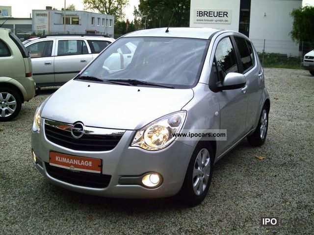 2009 opel agila 1 2 automatic edition climate esp car photo and specs. Black Bedroom Furniture Sets. Home Design Ideas