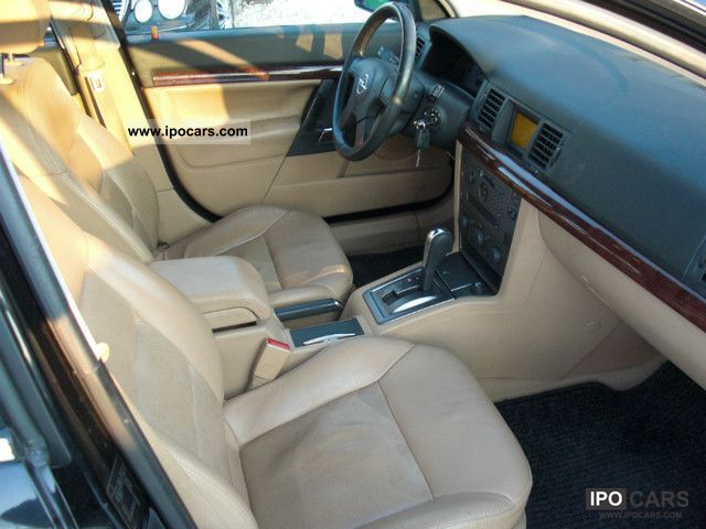 Vectra 2002 Interior 2002 Opel Vectra c 2.2 Lpg Gas