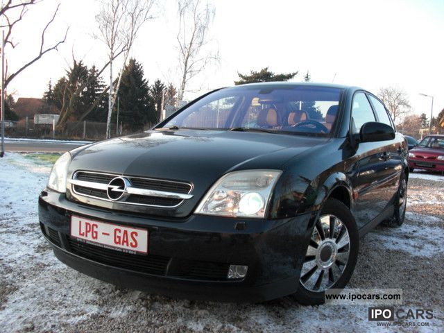 Opel  Vectra C 2.2 LPG GAS, Xenon, Leather, 1.BES.SCHECKH 2002 Liquefied Petroleum Gas Cars (LPG, GPL, propane) photo