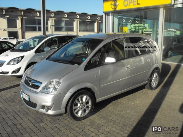 2007 opel meriva 1 3 cdti cosmo car photo and specs. Black Bedroom Furniture Sets. Home Design Ideas