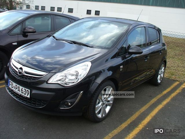 2012 opel opel corsa 1 4 150 years car photo and specs. Black Bedroom Furniture Sets. Home Design Ideas