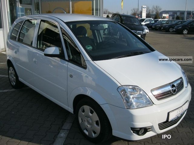 2008 opel meriva 1 4 air fog car photo and specs. Black Bedroom Furniture Sets. Home Design Ideas