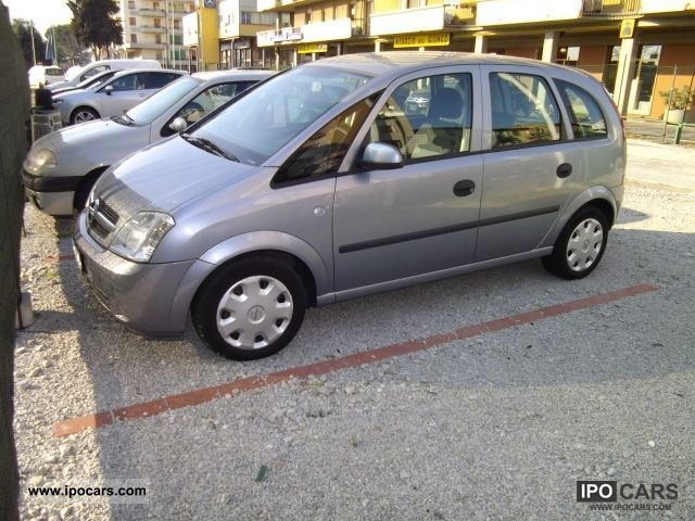 2004 opel meriva 1 4 16v enjoy car photo and specs. Black Bedroom Furniture Sets. Home Design Ideas