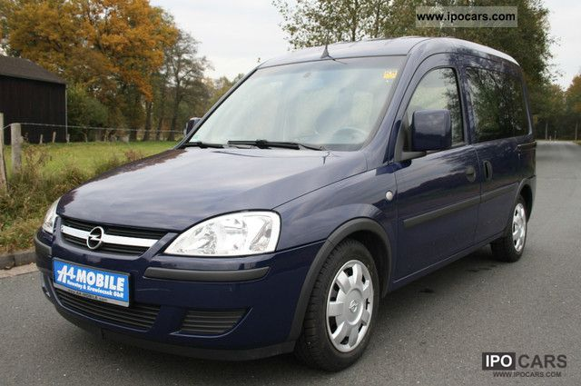 2005 opel combo 1 4 twinport edition 5 seater air car photo and specs. Black Bedroom Furniture Sets. Home Design Ideas