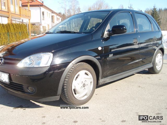 2002 opel corsa 1 2 sport car photo and specs. Black Bedroom Furniture Sets. Home Design Ideas