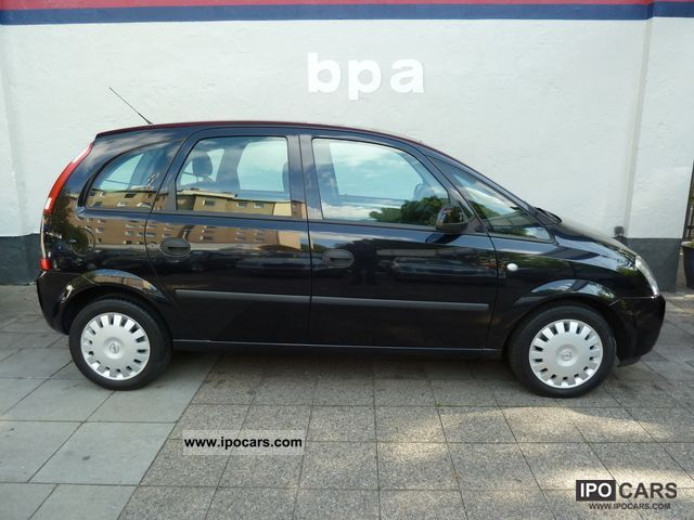 2003 opel meriva 1 6 car photo and specs. Black Bedroom Furniture Sets. Home Design Ideas