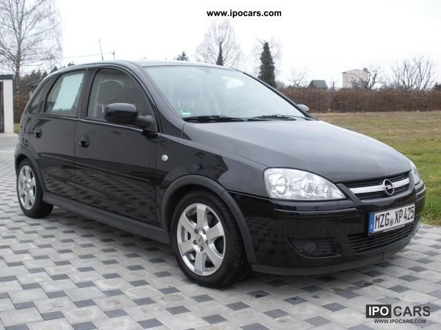 2005 opel corsa 1 7 cdti edition car photo and specs. Black Bedroom Furniture Sets. Home Design Ideas