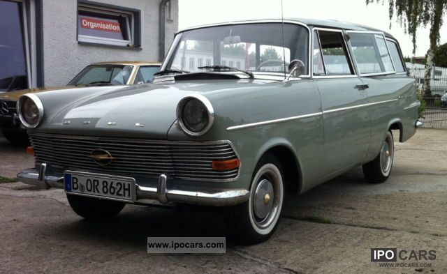 Opel  P2 Olympia Caravan! € 12,500 FIXED PRICE! 1962 Vintage, Classic and Old Cars photo