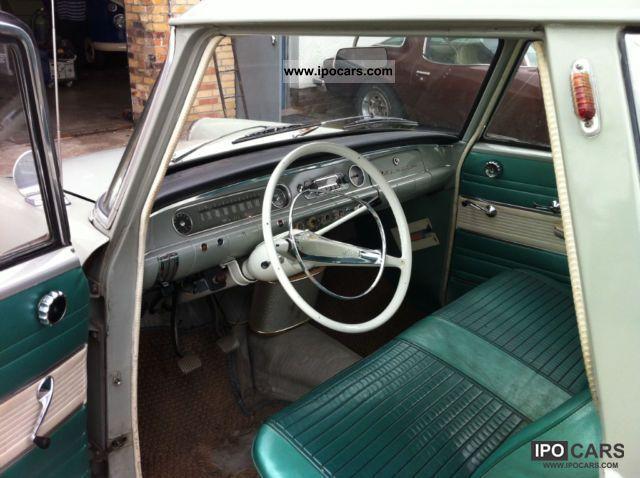 1962 Opel P2 Olympia Caravan! € 12,500 FIXED PRICE! - Car Photo and Specs