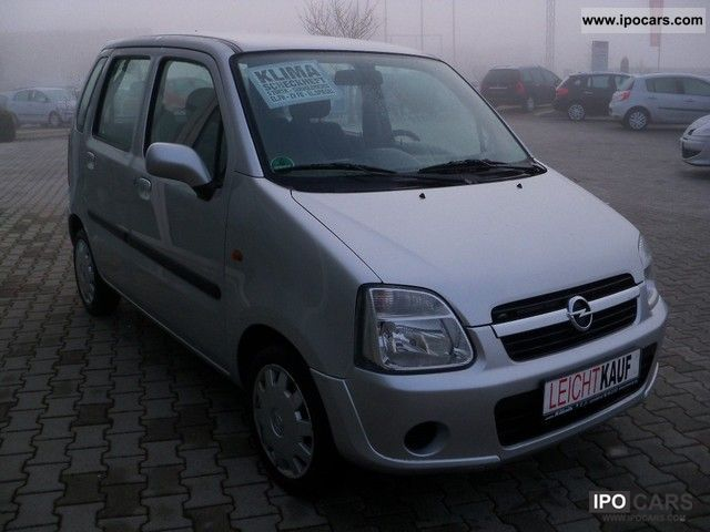 2006 Opel  Agila 1.0 12V, air, scheckheft Servol. Small Car Used vehicle photo
