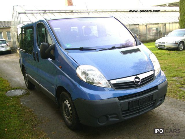 2008 opel vivaro 2 0 cdti easytronic top car photo. Black Bedroom Furniture Sets. Home Design Ideas