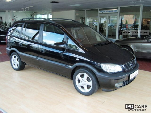 2002 opel zafira 1 6 selection air lm cd 7 seater car photo and specs. Black Bedroom Furniture Sets. Home Design Ideas