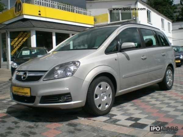 2009 opel zafira van edition special prices car photo and specs. Black Bedroom Furniture Sets. Home Design Ideas