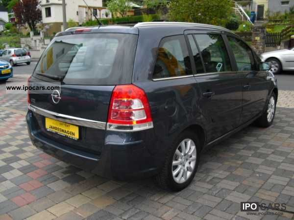 2011 opel zafira van edition special prices car photo and specs. Black Bedroom Furniture Sets. Home Design Ideas