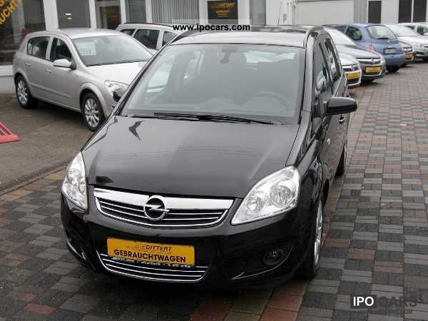 2011 opel zafira van design edition special prices car photo and specs. Black Bedroom Furniture Sets. Home Design Ideas