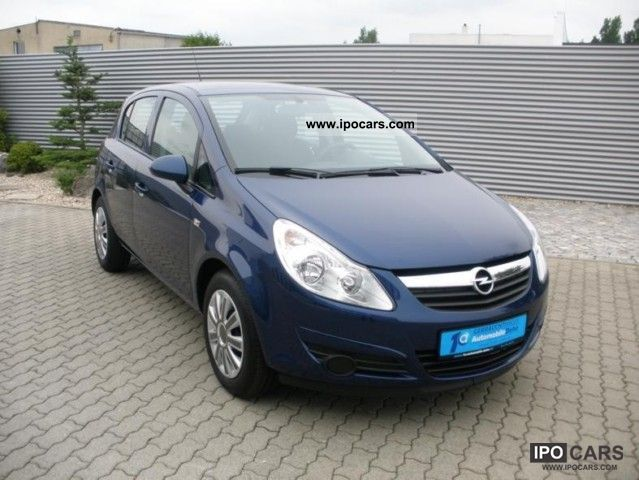 2010 opel corsa 1 2 twinport edition climate car photo and specs. Black Bedroom Furniture Sets. Home Design Ideas