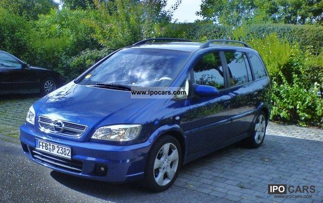 2005 opel zafira 2 0 dti sport car photo and specs. Black Bedroom Furniture Sets. Home Design Ideas