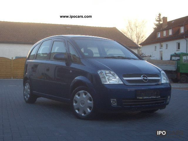 2003 opel meriva 1 7 cdti car photo and specs. Black Bedroom Furniture Sets. Home Design Ideas
