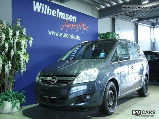 2009 opel zafira 1 9 cdti b edition car photo and specs. Black Bedroom Furniture Sets. Home Design Ideas