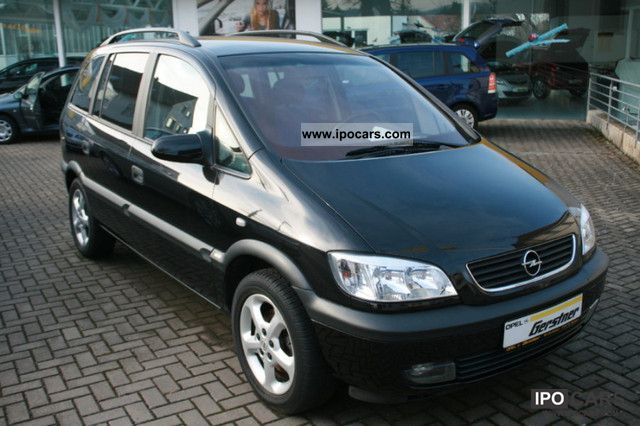 2002 opel zafira executive car photo and specs. Black Bedroom Furniture Sets. Home Design Ideas