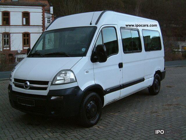 2005 opel movano 2 5 cdti car photo and specs. Black Bedroom Furniture Sets. Home Design Ideas