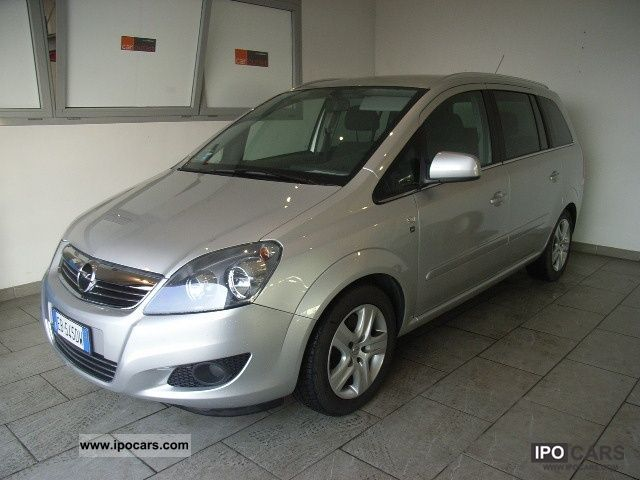 2010 opel zafira 1 7 cdti 125cv edition car photo and specs. Black Bedroom Furniture Sets. Home Design Ideas