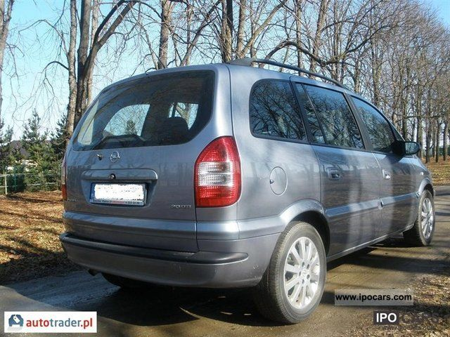 2004 opel zafira car photo and specs. Black Bedroom Furniture Sets. Home Design Ideas